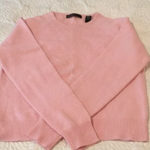 100% 2 ply cashmere sweater,